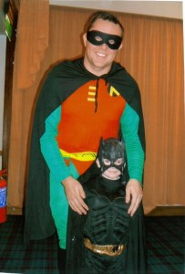 Bryan and Josh - Total Superheroes ;o)
